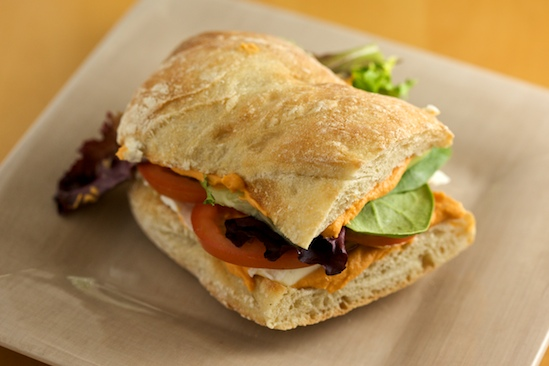 Sandwich vegetarian