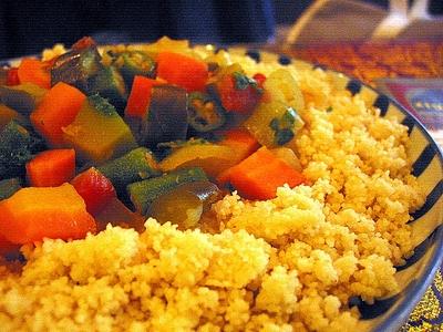 Couscous (cus cus) cu legume